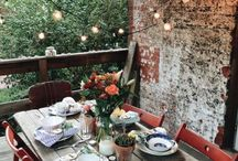 Pretty Patios & Porches / A board full of ideas for decorating and arranging your patio.