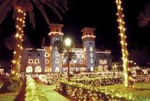 Christmas in St Augustine, FL