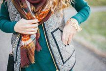 Style // Herringbone Vest
