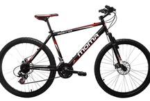 Bicicletas Moma Bikes Nuevas / Bicicletas Moma Bikes Nuevas, muy pronto estarán aquí, en color negro, con más velocidades de 21 a 24v / by Bicicletas Moma bikes