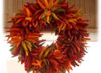 Ristras / All kinds of ristras - big, little, wreaths, crosses, fancy decorator ristras