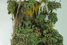 maquetas selva