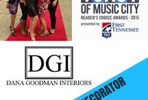 "Toast of Music City 2015 / Vote for Dana Goodman Interiors for Toast of Music City 2015's ""Best Interior Decorator""! Vote at: http://bit.ly/1NfgFGE"