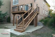 Deck with Aluminium Balusters