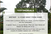 Client testimonials / We make sure that you get a unique and memorable experience because your happiness is our priority. Know what our clients have to say about us.