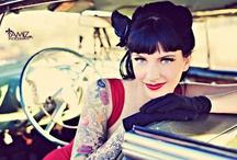 Perfect Pretty Pinup / pinup/retro hair and makeup - companion board to Retro Style