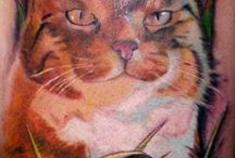 Cat Tattoo Designs / http://www.tattoosideas.co.uk/cat-pictures.html