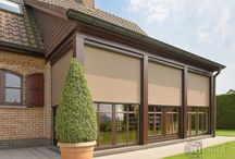Outdoor blinds (screens) / sun-protection-screens