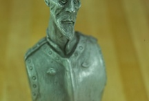 traditional 3D work / skulptures and maquettes