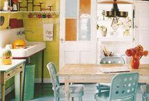 kitchen floor ideas / by Deirdre M