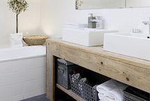 Ideoita kylpy-/kodinhoitohuoneeseen