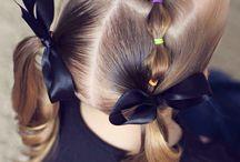 Penteados menina