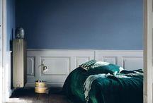 Blå soverom