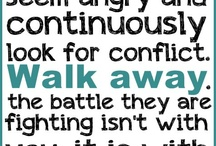 Know to walk away.