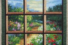 ATTIC WINDOWS QUILT