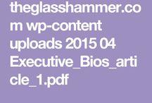 Executive Board Bios / Resumes
