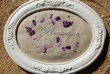 La SOIE dans tous ses états / Des trésors créatifs réalisés avec de la soie, sous toutes ses formes: rubans, soie perlée...