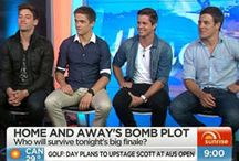 Home and away / Clips , photos,