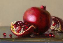 Pomegranite / Oil paint
