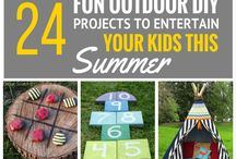 dIY outdoor kid stuff