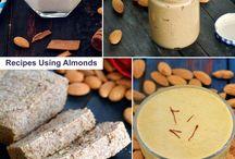 Healthy Almond Veg Recipes