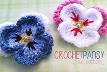 crochet flowers ideas