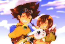 Digimon Adventure (デジモンアドベンチャー) / Digimon Adventure (デジモンアドベンチャー Dejimon Adobenchā?) è la prima stagione della serie anime del media franchise giapponese Digimon, andata in onda nel 1999.
