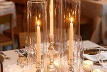 mariage centre de table