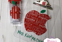 Silhouette - teacher gifts