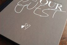 Wedding - Guest book ideas