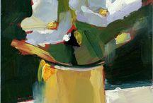 Flores pintura