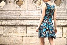 Alameda dress pattern and inspiration