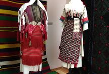 """""""A Colourful World"""" / Traditional costumes, textiles and adornments"""