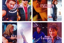 The Avengers/Marvel.  / by Hailey Nichole