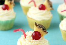 Tipsy Cupcakes / Cupcakes with added alcohol.
