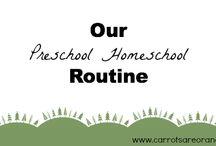 Preschool Homeschool / by Michaela Price Watts