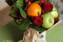 Букет с фруктами