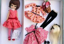 Dolls and wardrobes
