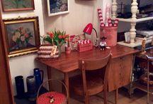 Original 1950er Jahre Schreibtisch