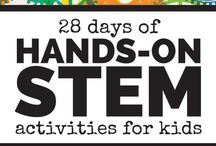 STEM / Pins filled with activities and resources for teaching STEM subjects (Science, Technology, Engineering and Math).