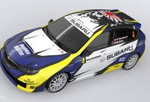 Herman Neubauer (Subaru Impreza WRX Sti R4) / Logo, design and wrap.