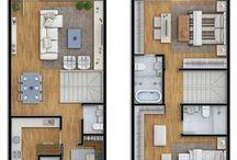 plan  etaj dormitoare