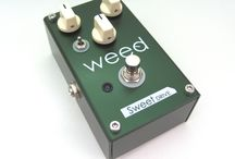 PEDALS / weed effector Stoner's FX crafted by weed http://www.harrysjp.com/