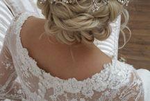 Beautiful Bridal Hair Vines / Hairstyling by Tina  Beautiful Hair 4 Weddings