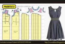 SEWING PATTERN  BY mmodelista / by Violeta Acvdo