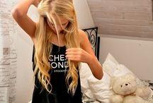 long hairrr dont care / by Irene Elizabeth