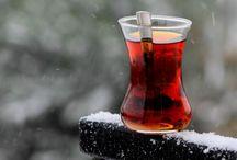 Xícara com chá & outros (Canecas)