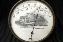 Antique Advertising Thermometers
