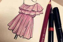 Fashion Illustration / Ilustração de moda