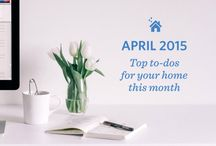 April to-dos for your Denver Home / Everything you need to get your home ready for spring (and summer!) in Denver.  / by Zaarly